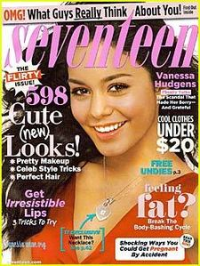 Vanessa on the Cover