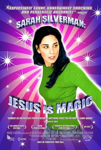 'Jesus is Magic' poster