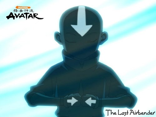 Aang in the ice