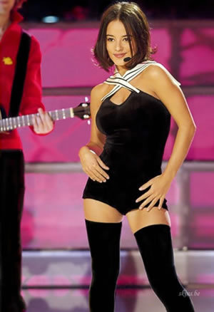 Alizee - black outfit