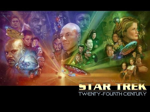 All 星, つ星 Trek Captains