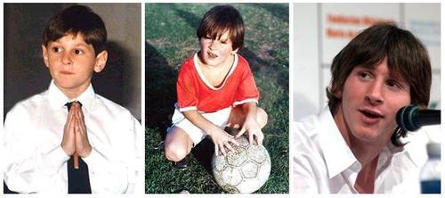 Baby pictures of footballers