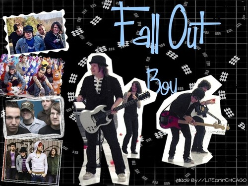 Background Fall out boy