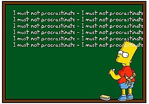 Bart Procrastination