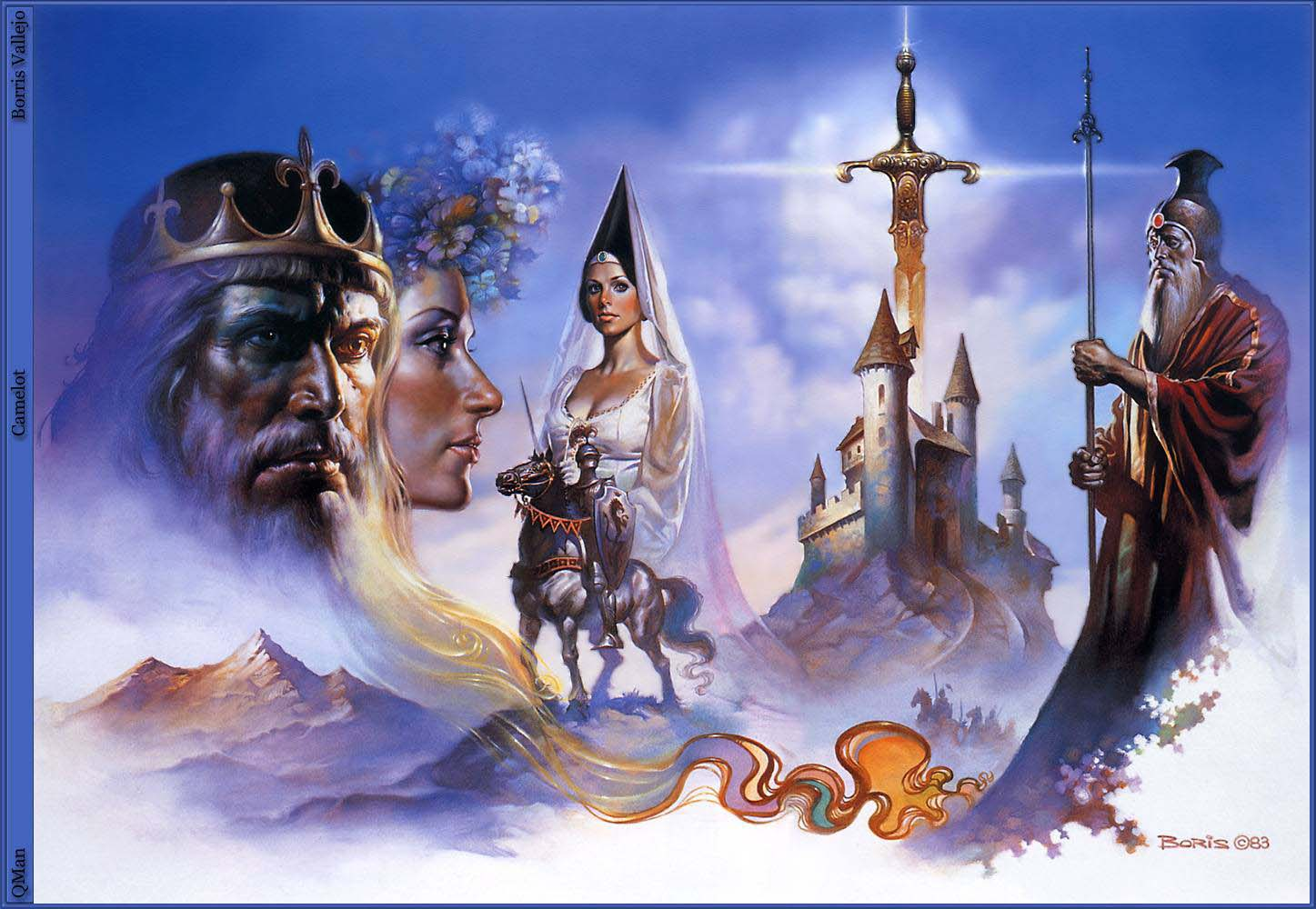 Boris Vallejo S Camelot King Arthur Photo 360110 Fanpop