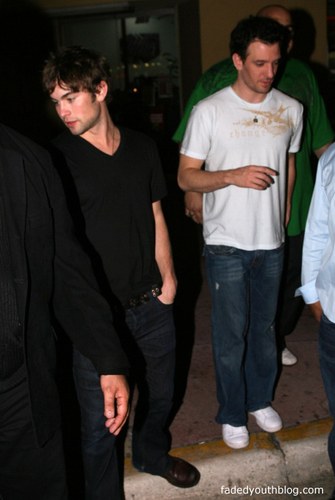 Chace Crawford & JC Chasez