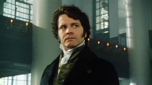 Colin Firth as Mr Darcy