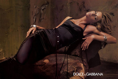 D & G Spring 2003 Campaign Ad