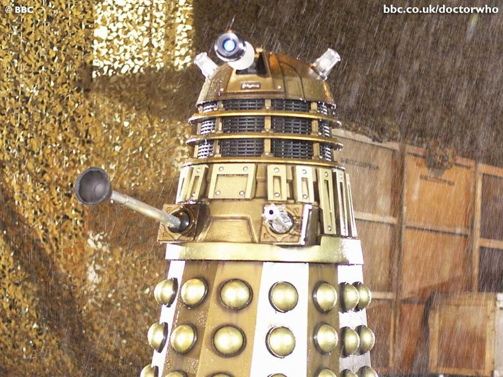 Dalek Singing In The Rain Doctor Who Wallpaper 40742 Fanpop