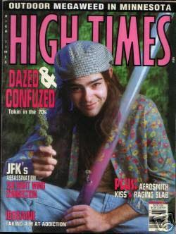 Slater on High Times Cover