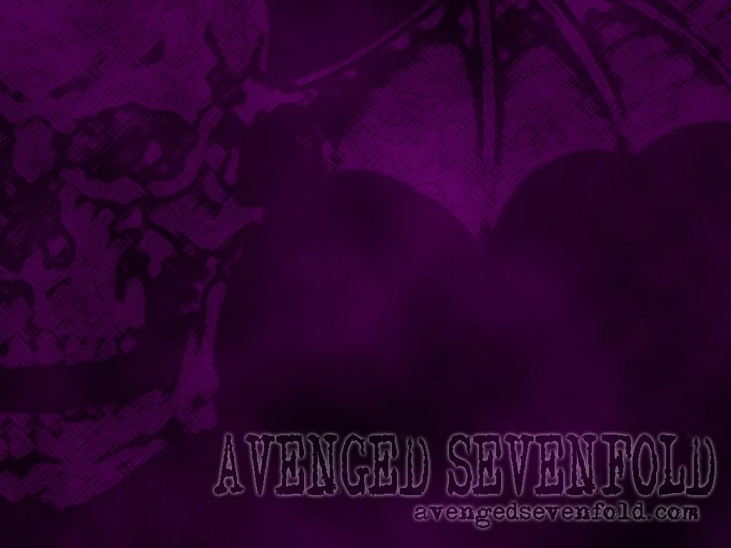 Death Bat Purple Avenged Sevenfold Wallpaper 118608 Fanpop
