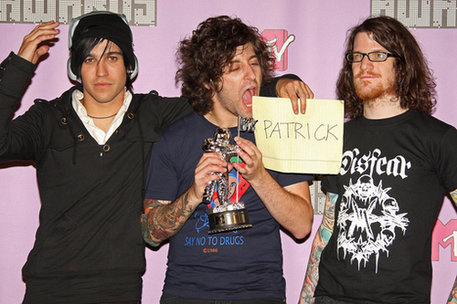 Fall Out BOy at the VMAs