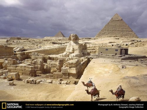 Giza: The Sphinx