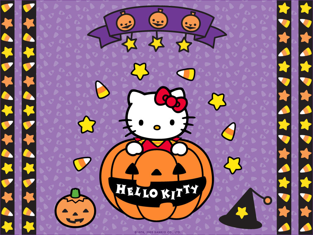 halloween bilder hello kitty halloween hd hintergrund and background