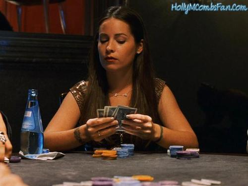 Holly in Ocean's Eleven
