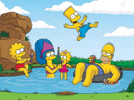 Homer and his Family