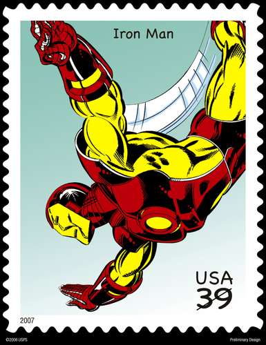 Iron Man Stamps