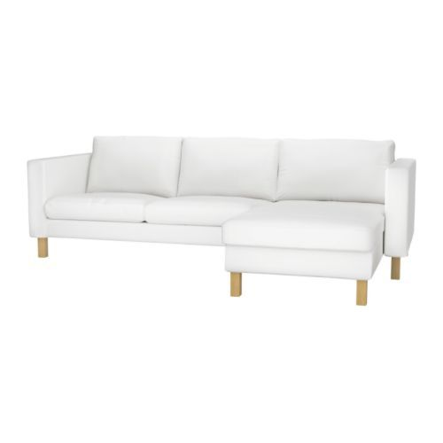 KARLSTAD Loveseat and chaise l
