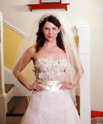 Lorelai's Wedding Dress
