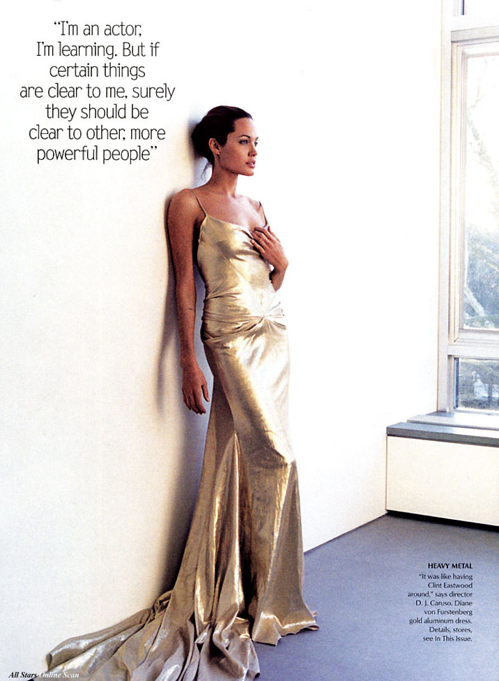 March 2004: Angelina Jolie