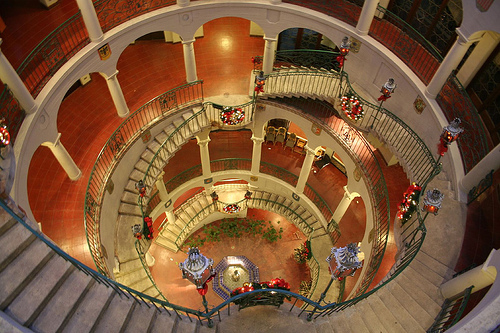 Mission Inn Staircase