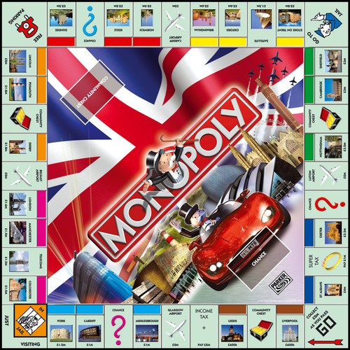 Monopoly UK edition