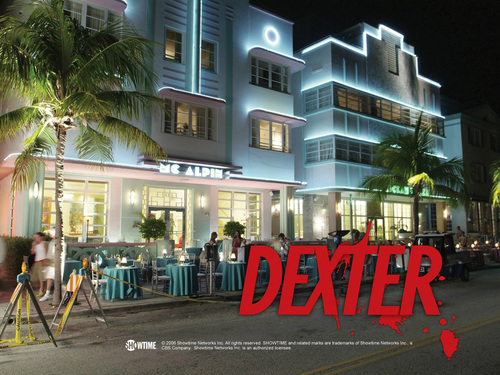 Official dexter wallpaper