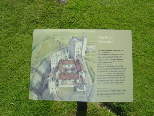 Old Sarum lâu đài - UK