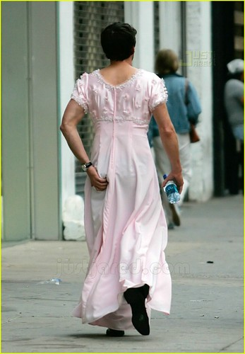 Patrick Dempsey in a dress