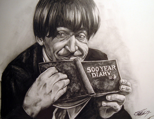 Patrick Troughton fan Art