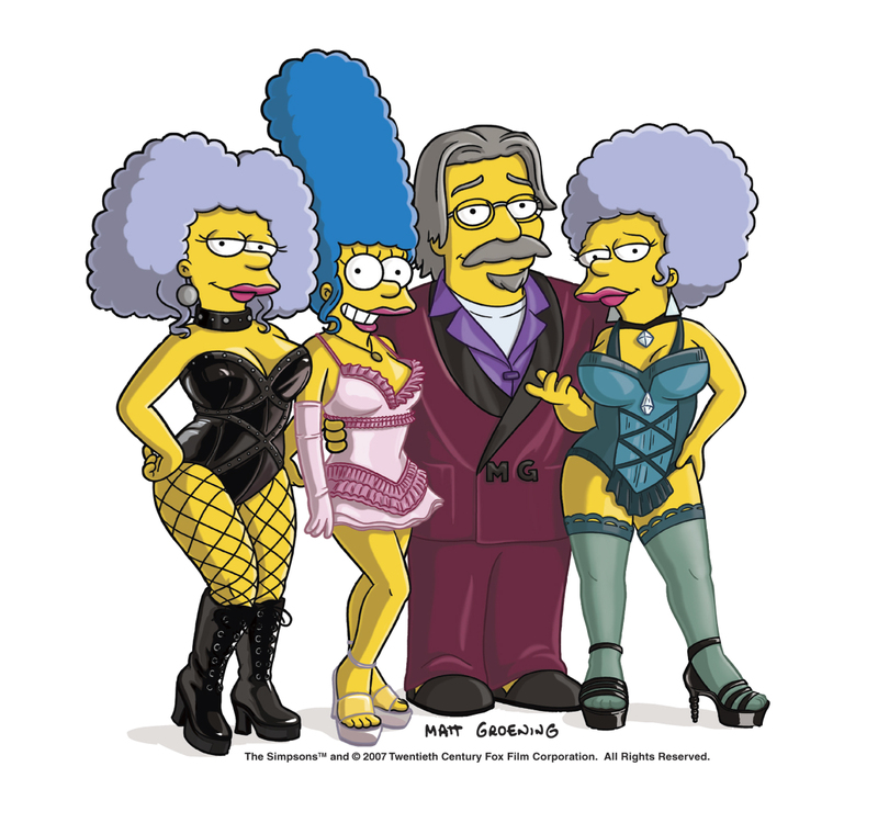 Playboy issue Simpsons pic