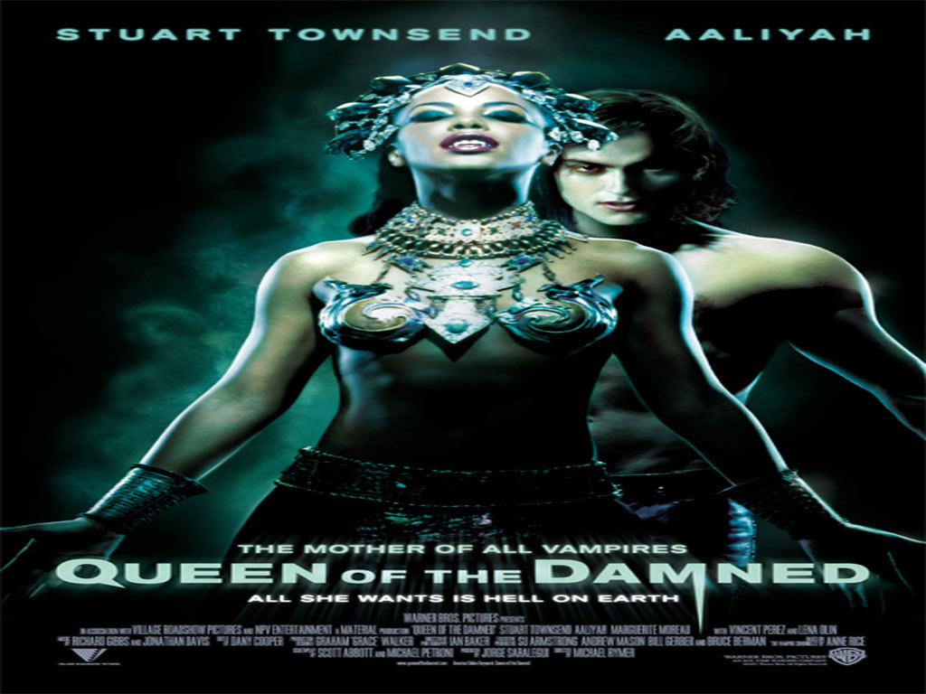 Queen Of The Damned Horror Movies Wallpaper 77514 Fanpop