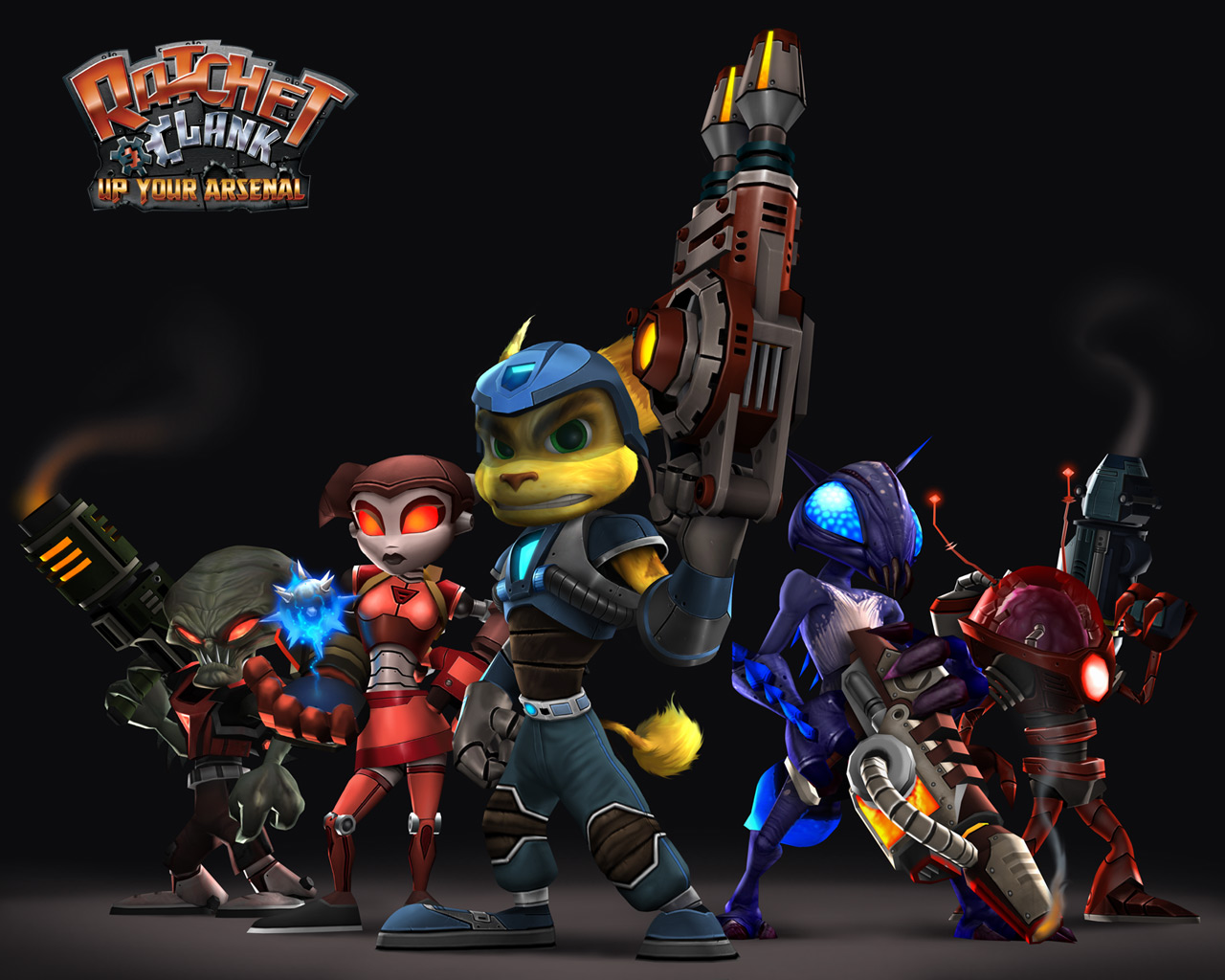 Ratchet Clank Ratchet And Clank Wallpaper 642429 Fanpop