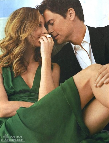 Rob Lowe and Calista Flockhart