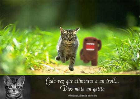 Save the gatitos Spanish Ver.