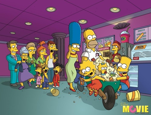 Simpsons 'Movie Pictures'