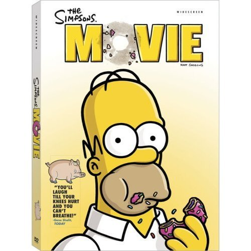 Simpsons Movie DVD