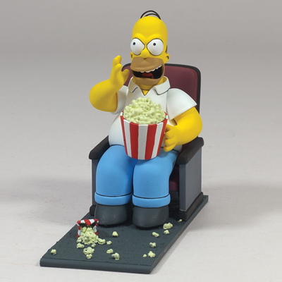 Simpsons Movie Figurines
