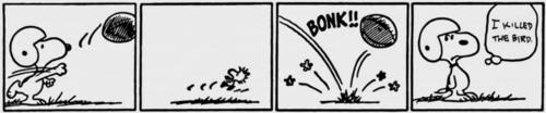 Snoopy Comic Strip