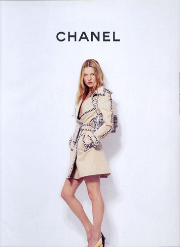 Spring/Summer 04 Ad: Kate Moss