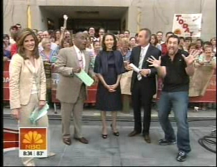 TODAY Show in July 2007