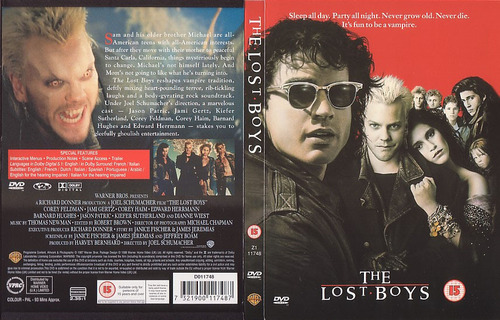 The Lost Boys DVD cover