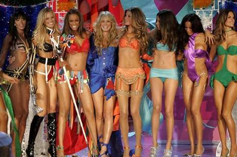 The Victoria`s secret Angels!