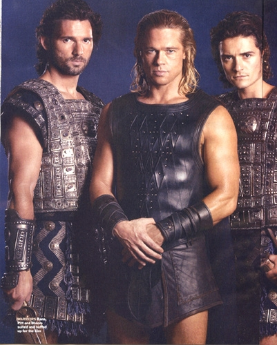The boys of Troy in costume!