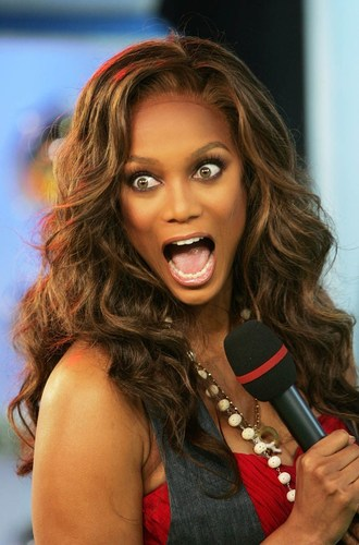 Tyra @ MTV party