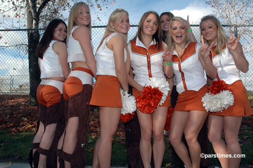UT Cheerleaders 2006