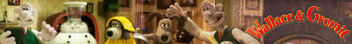 Wallace and Gromit banner