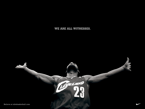 We are all witnesses.