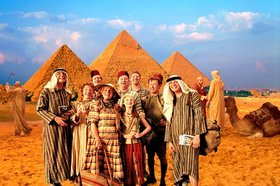 Weasleys in Egypt