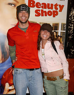 Zachary Levi and Sister
